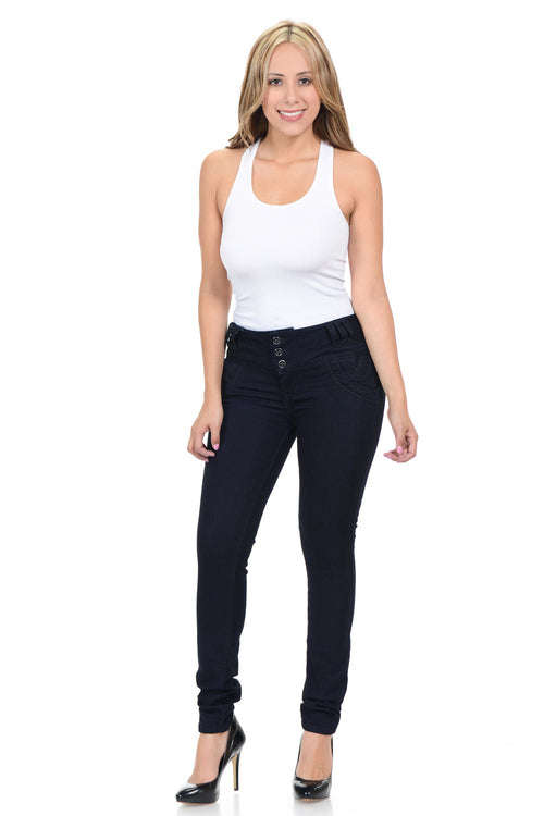 M.Michel Jeans Colombian, Push Up - N516