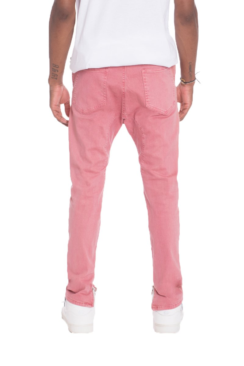 STRETCH DENIM- PINK