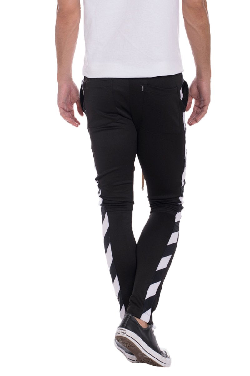 DIAGONAL TRACK PANTS
