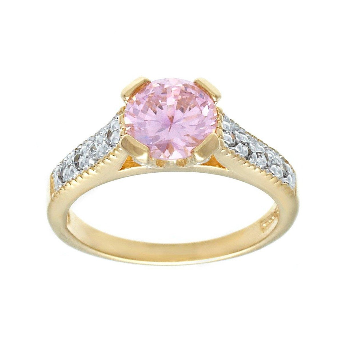 Very Fine Classic Engagement Style Solitaire Two