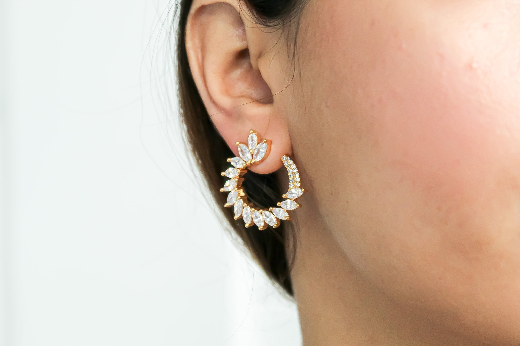 Golden Viper Earrings