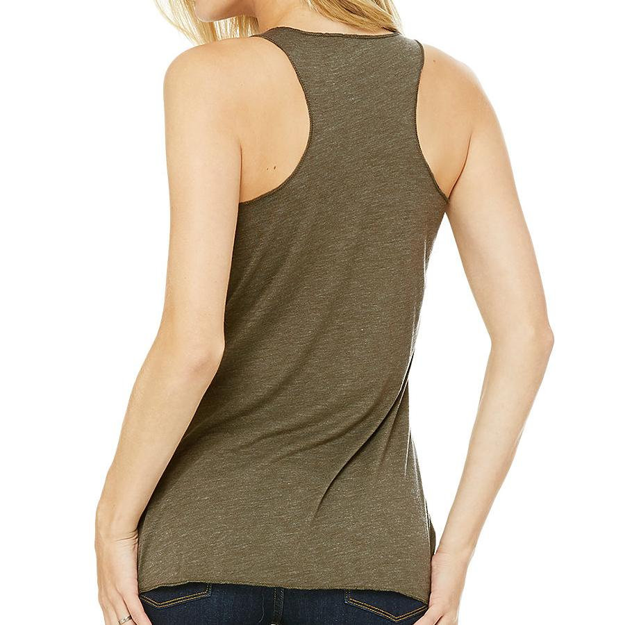Nature mind racerback tank