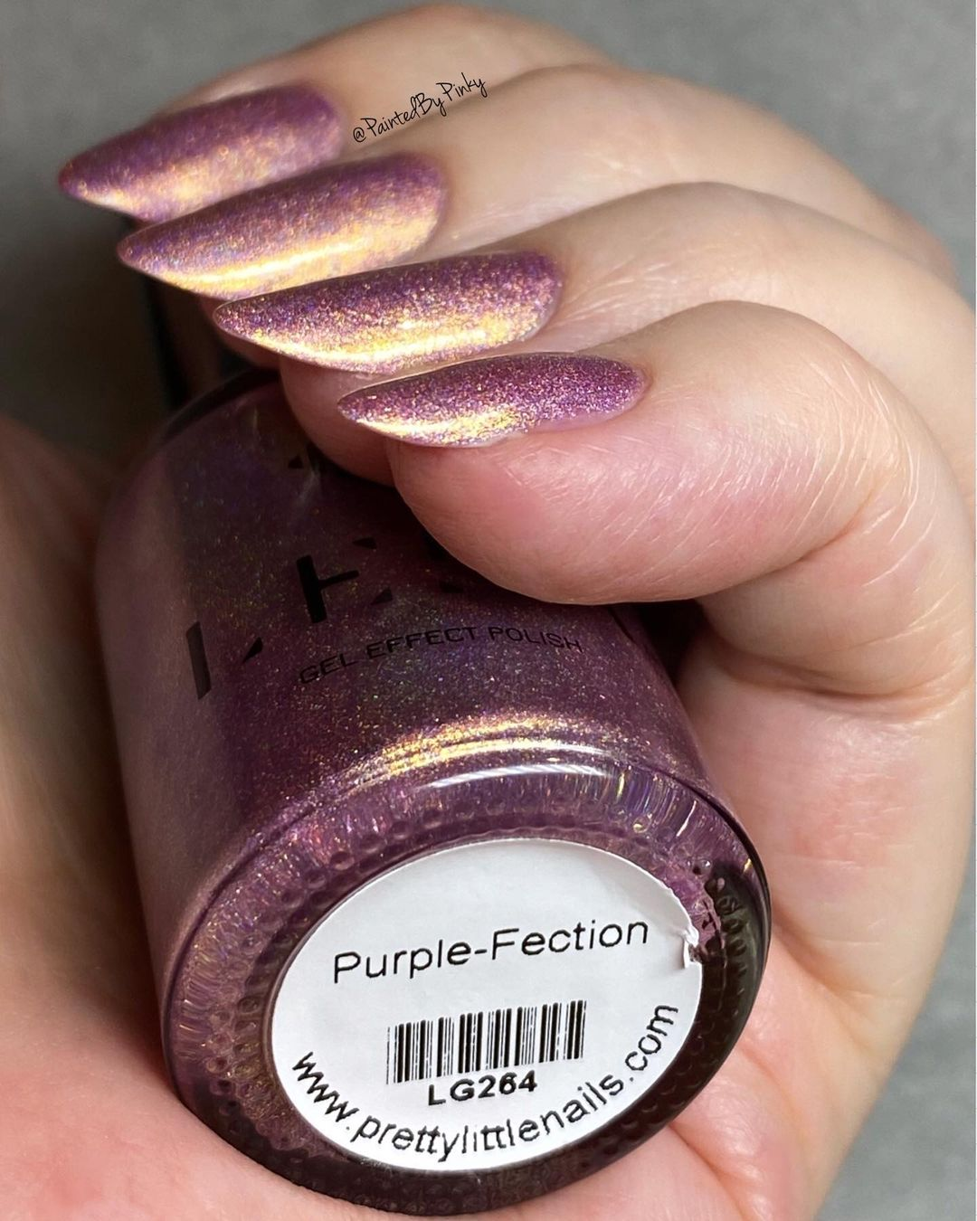Purple-Fection - Gel Effect Nail Polish - LG264
