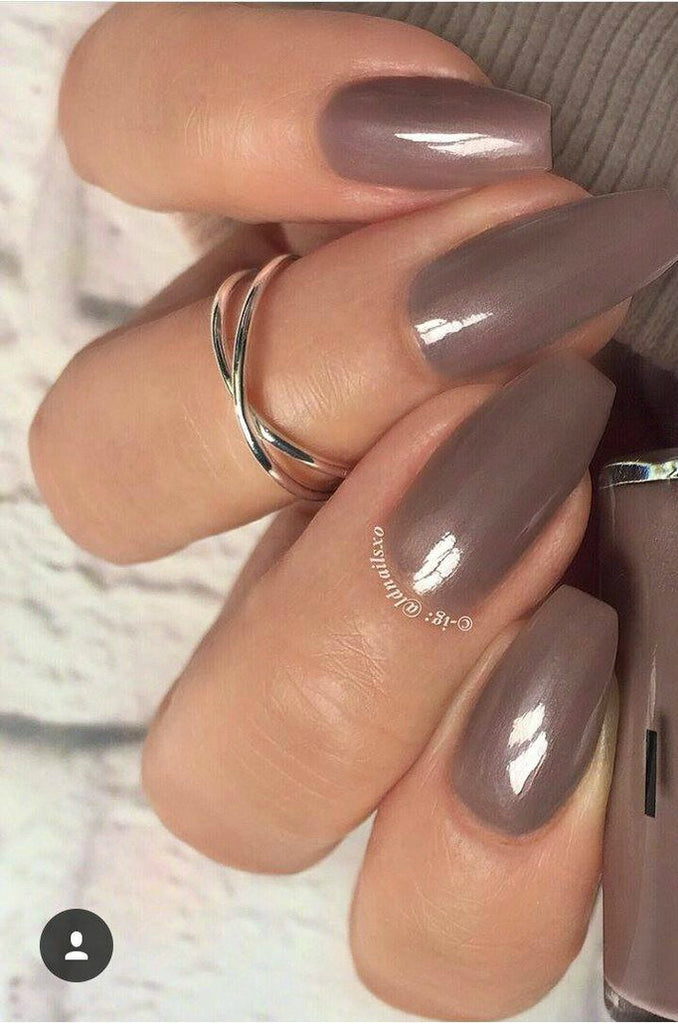 I'll See You Latte - Gel Effect Nail Polish - LG13