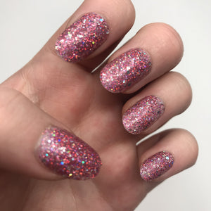 Take Me To The Crystal Ball - Gel Effect Nail Polish - LG112