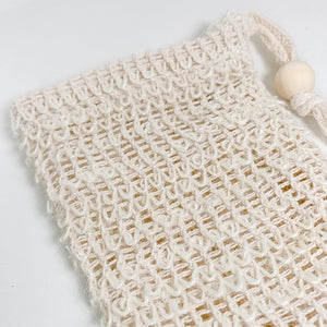 Agave Woven Soap Bag & Exfoliating Scrubber