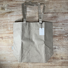 Load image into Gallery viewer, Reusable Washable Paper Market Bag