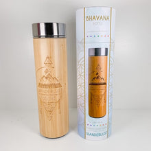 Load image into Gallery viewer, Bamboo Water Bottle - WANDERLUST