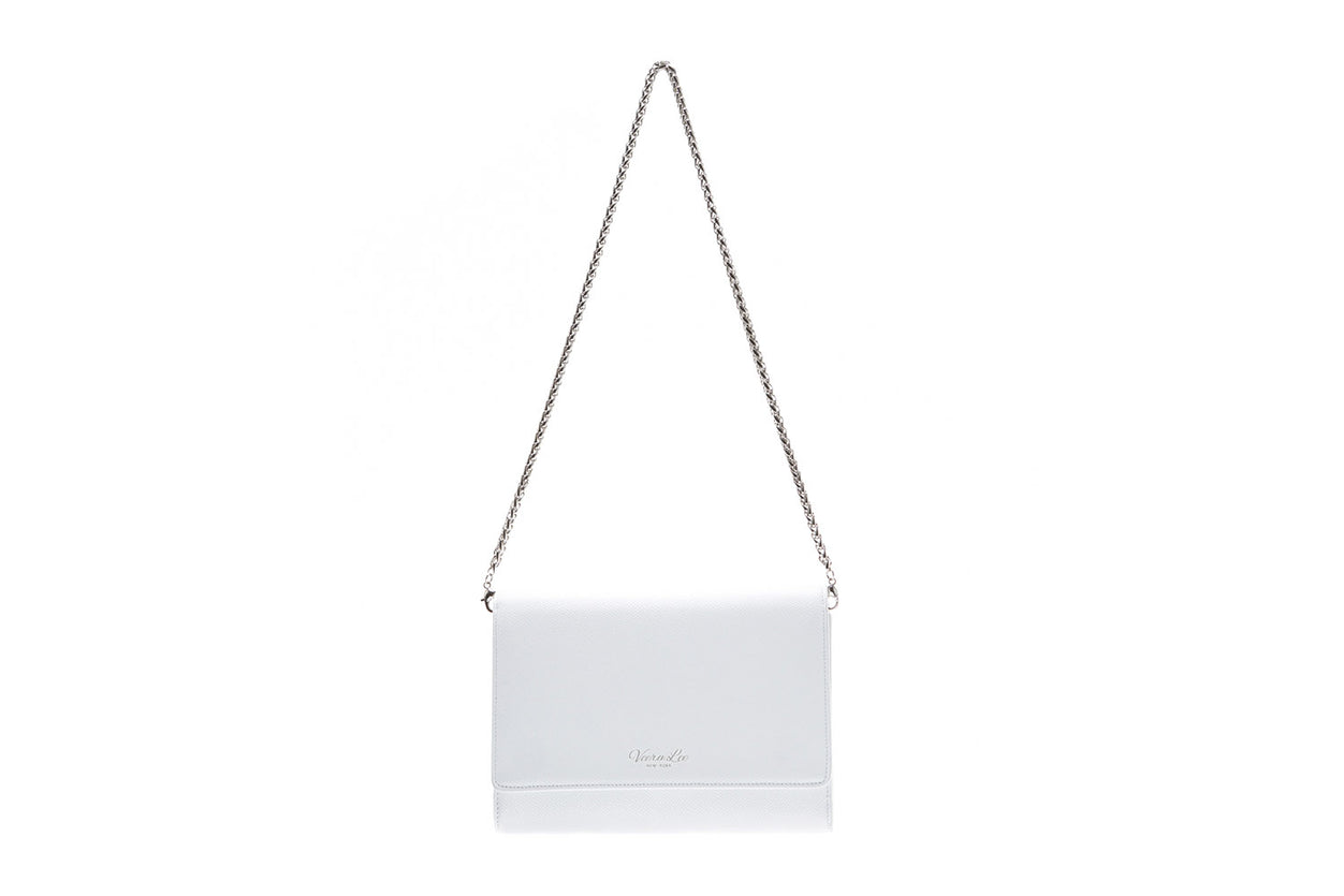 Main Bag White with Silver