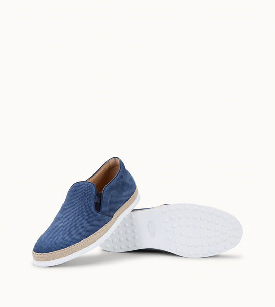Slip-on Suede Micro Perforations