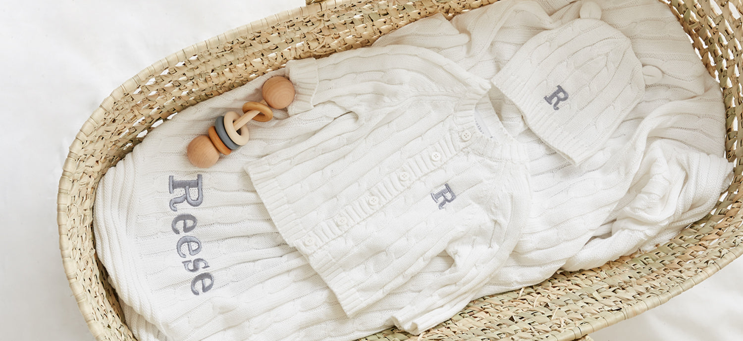 Personalized Baby Gifts Embroidered baby clothes, Monogram baby gifts