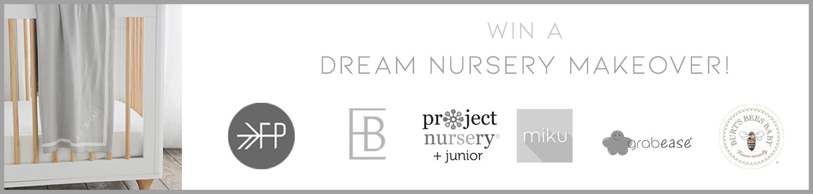 Dream Nursery Makeover Giveaway, Freshly Picked, Project Nursery, Baby gear