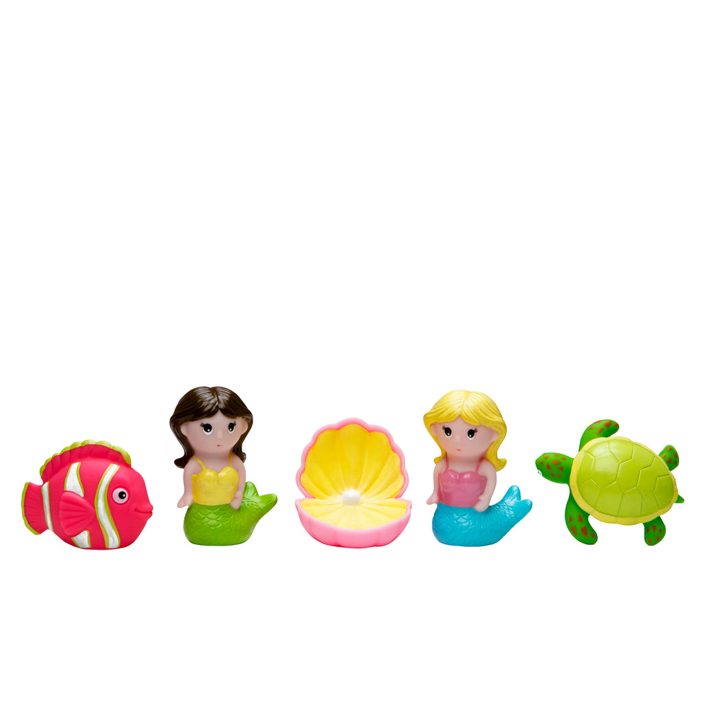 Mermaid Party Squirtie Baby Bath Toys
