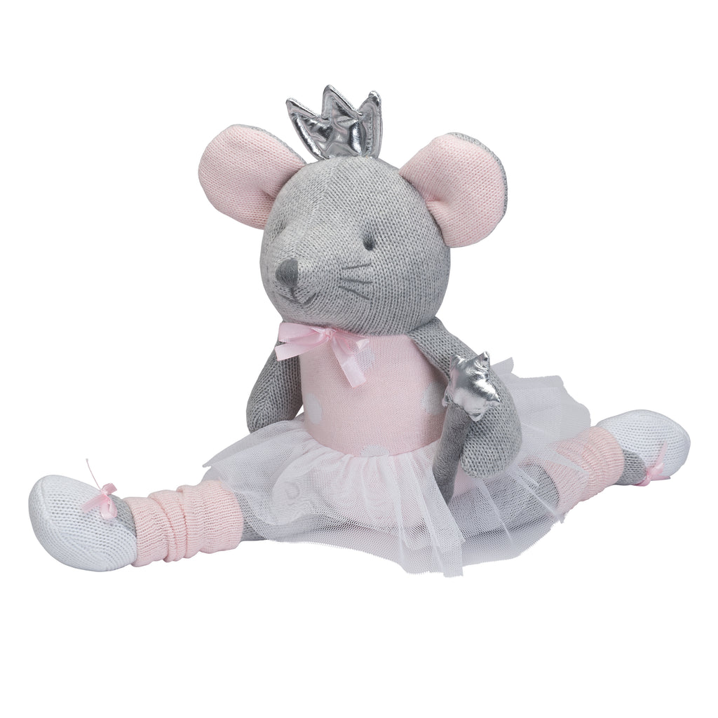 "15"" Princess Mousie Baby Knit Doll"