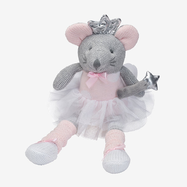 "10"" Princess Mousie Knittie Bittie"
