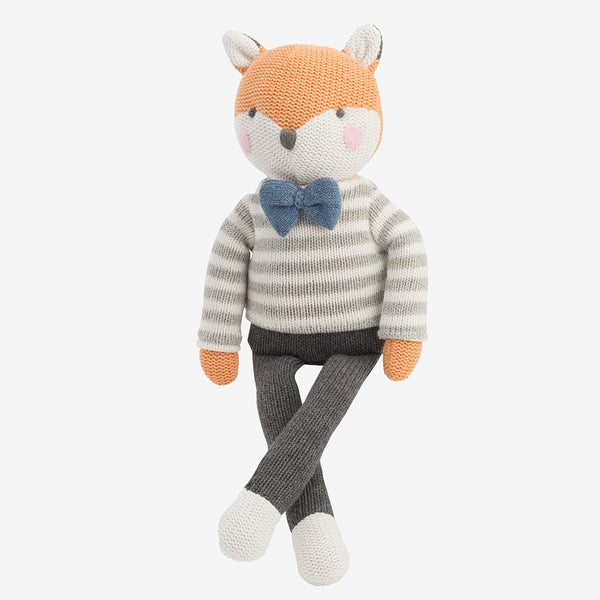 "15"" Dapper Fox Baby Knit Doll"