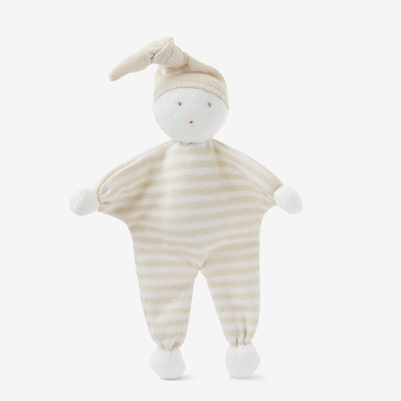 Wheat Mini Stripe Jumpsuit Baby Gift Set