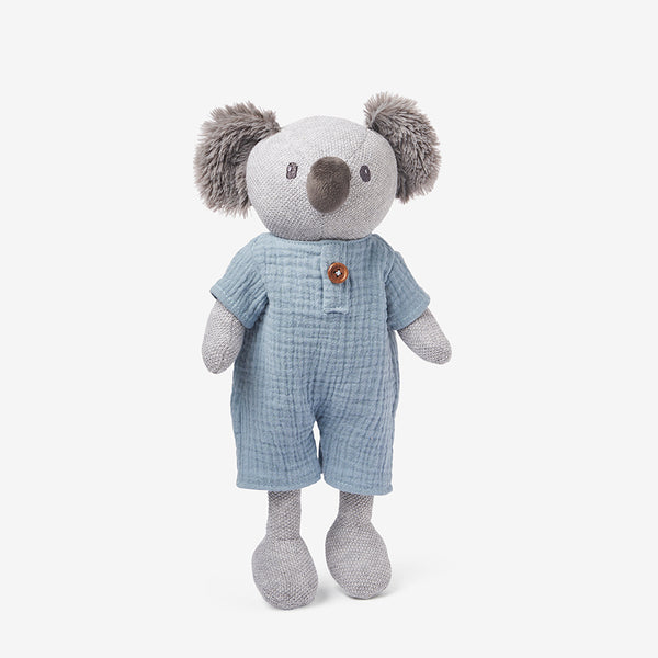 Joey Koala Knit Toy + Book Set