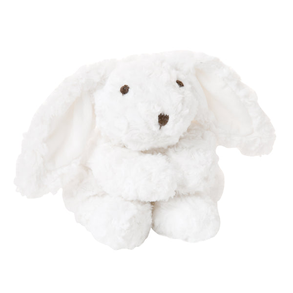 White Plush Bunny 10""