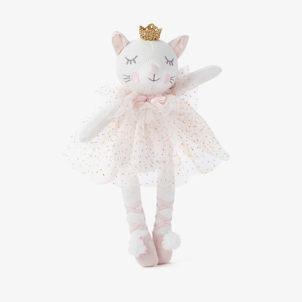 "10"" Princess Kitty Baby Knit Doll"