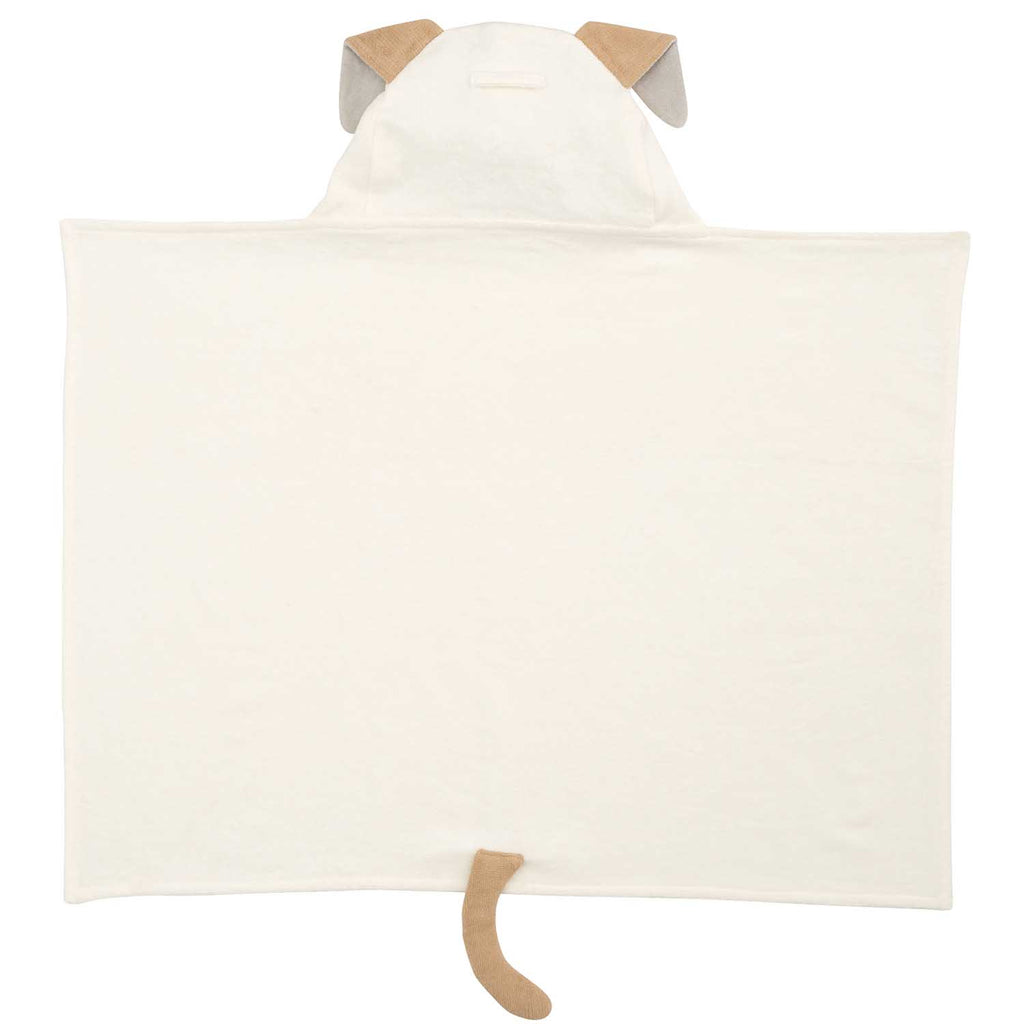 Tan Puppy Hooded Bath Wrap