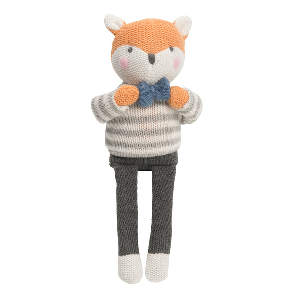 "10"" Dapper Fox Baby Knit Doll"