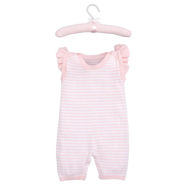 Pink Stripe Shortall