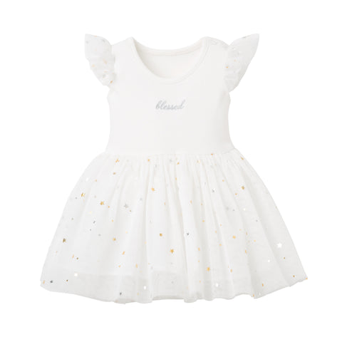 Boxed Christening Baby Dress