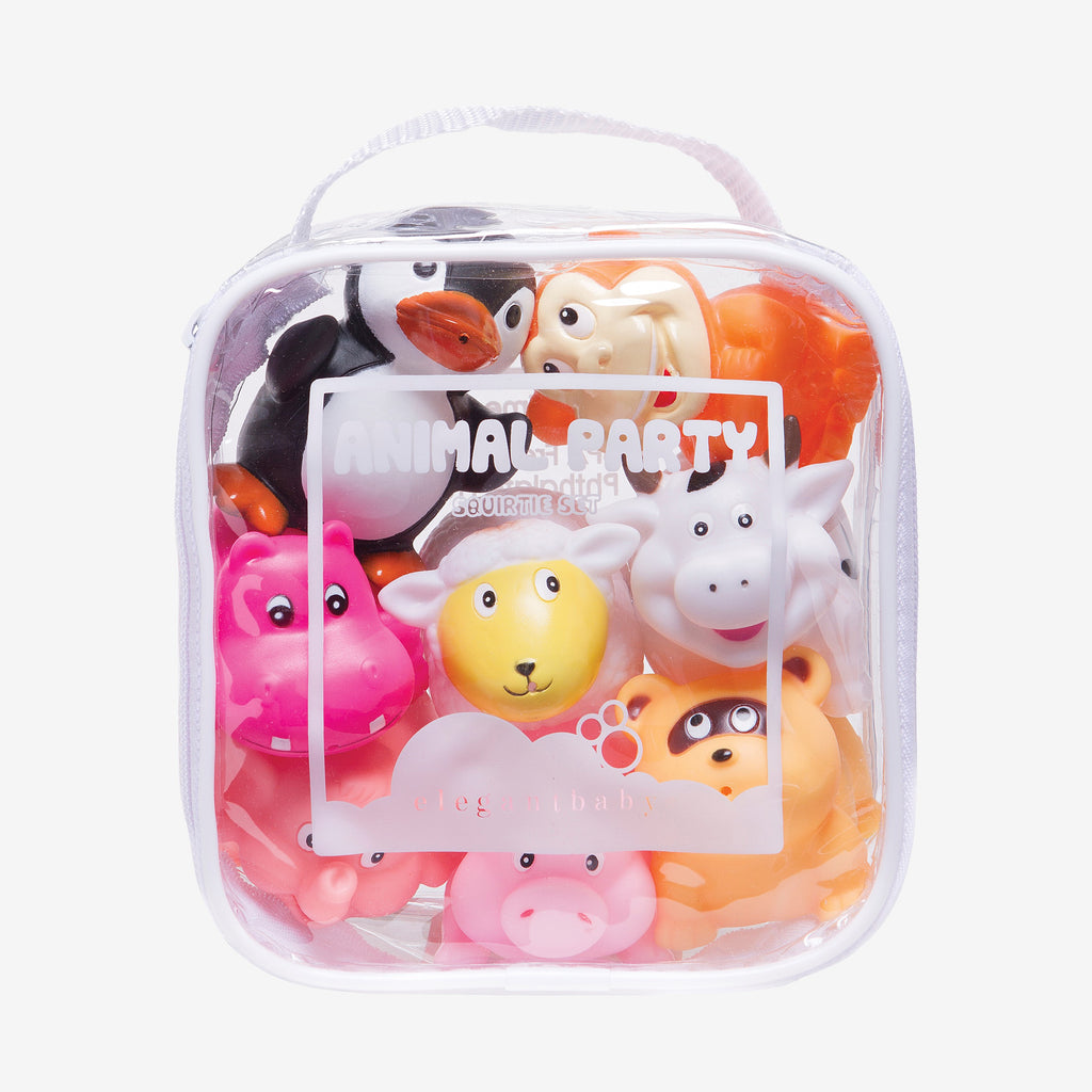 Animal Party Squirtie Baby Bath Toys