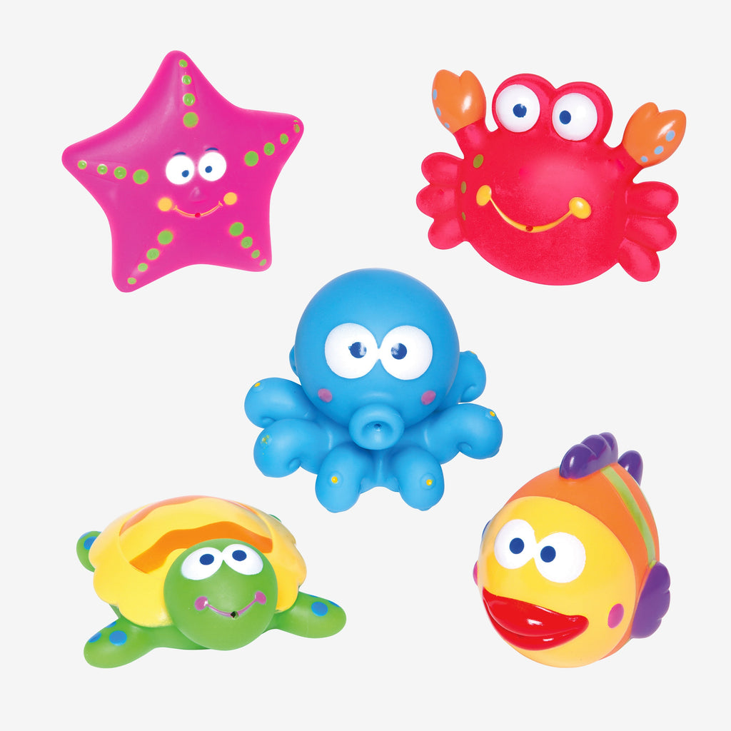Lagoon Party Squirtie Baby Bath Toys
