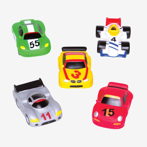 Race Car Party Squirtie Baby Bath Toys