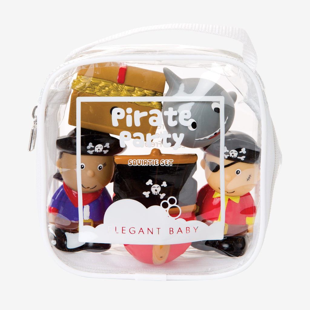 Pirate Party Squirtie Baby Bath Toys