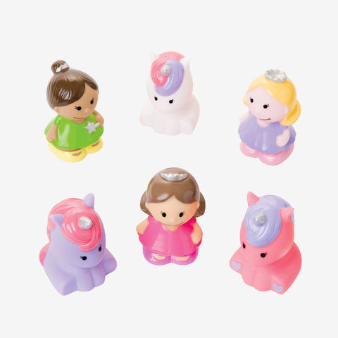 Princess Party Squirtie Baby Bath Toys