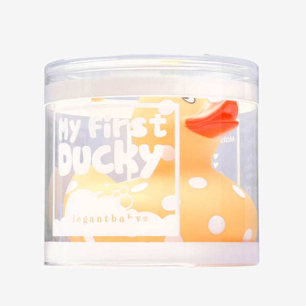 Yellow Duckie Baby Bath Set