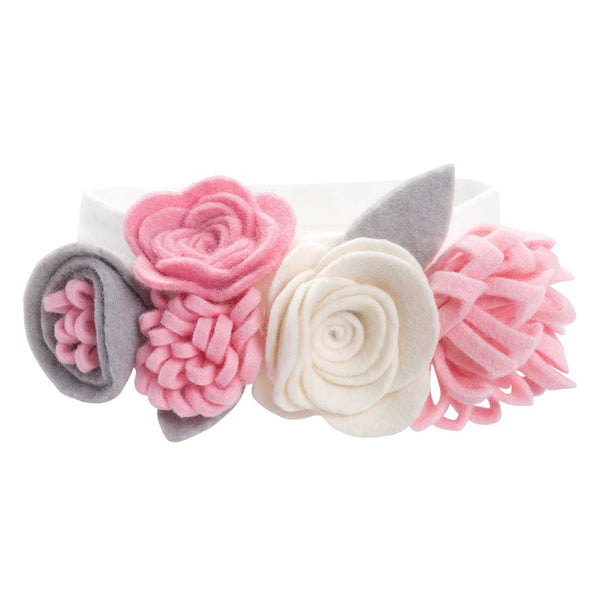 Multi Flower Baby Girl Headband