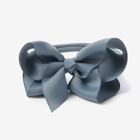 Light Teal Baby Girl Bow Headband