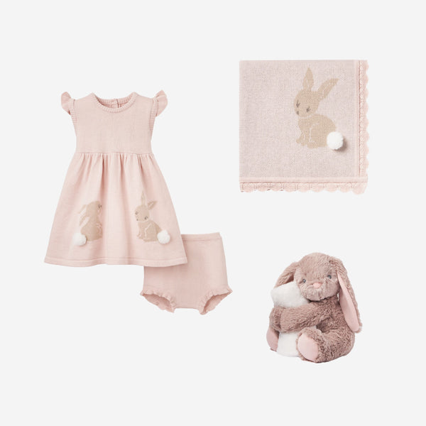 Bunny Dress Baby Gift Set