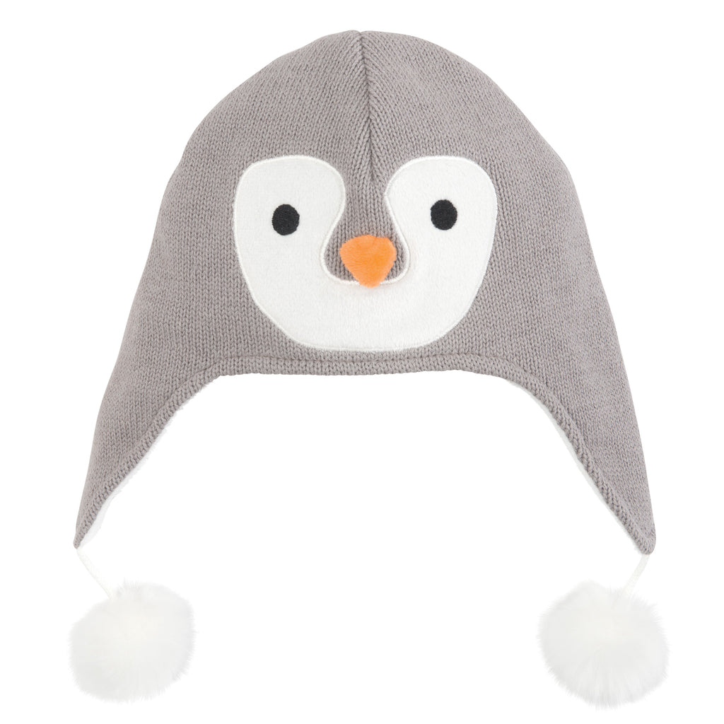 Penguin Knit Baby Hat