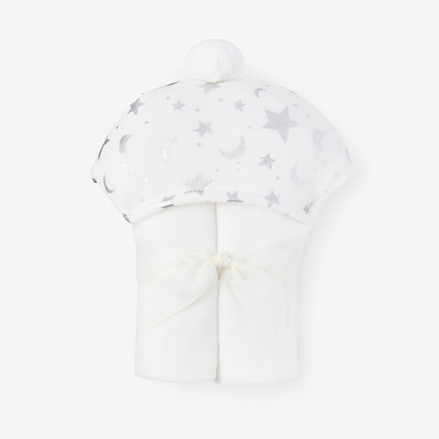 Celestial Organic Hooded Baby Towel