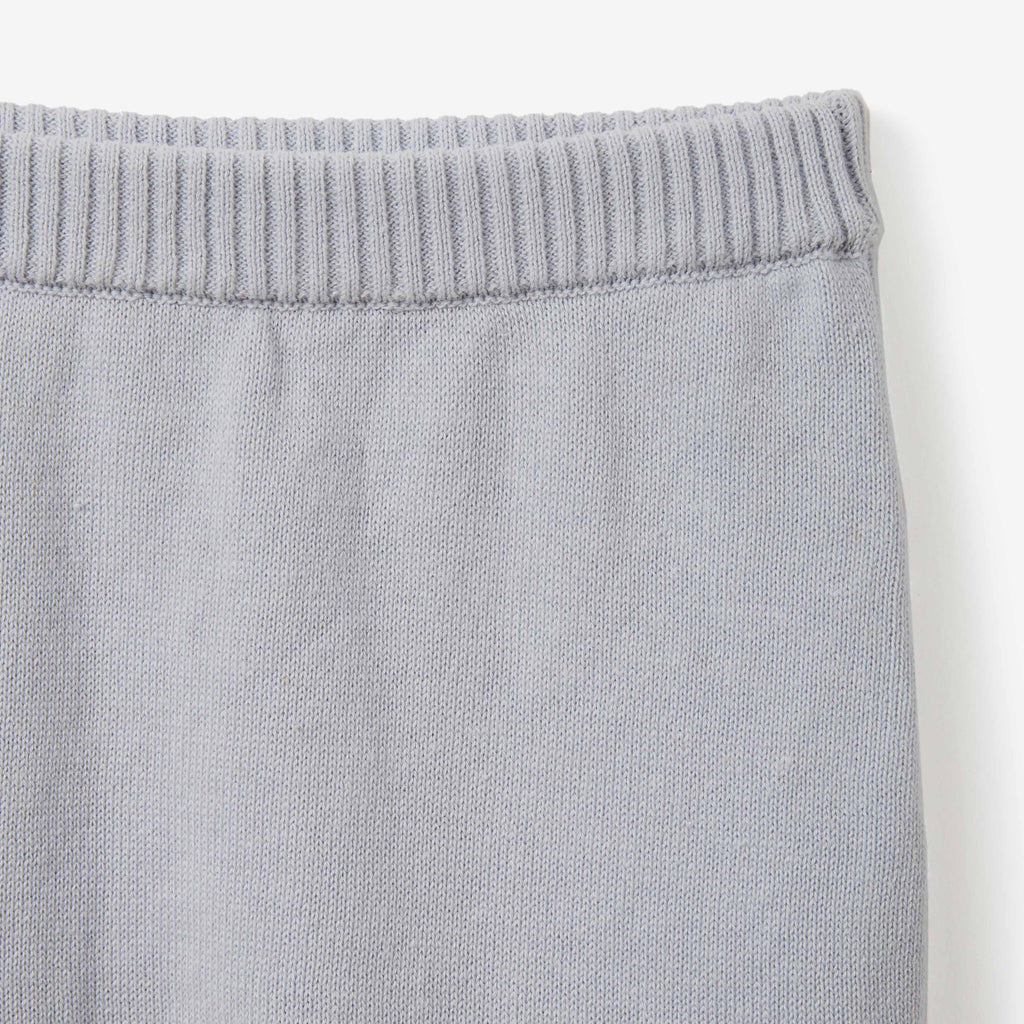 Blue Fine Knit Cotton Baby Pant
