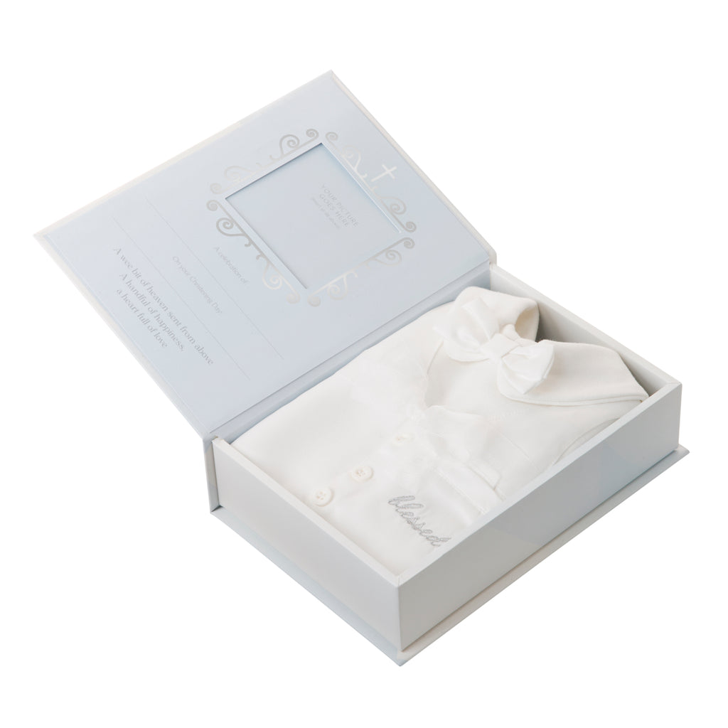 Boxed Christening Baby Suit