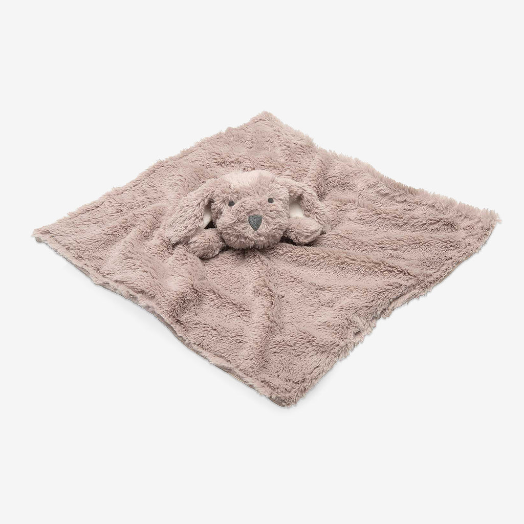Brown Puppy Baby Security Blanket