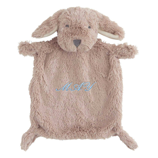 Brown Puppy Flat Baby Security Blanket
