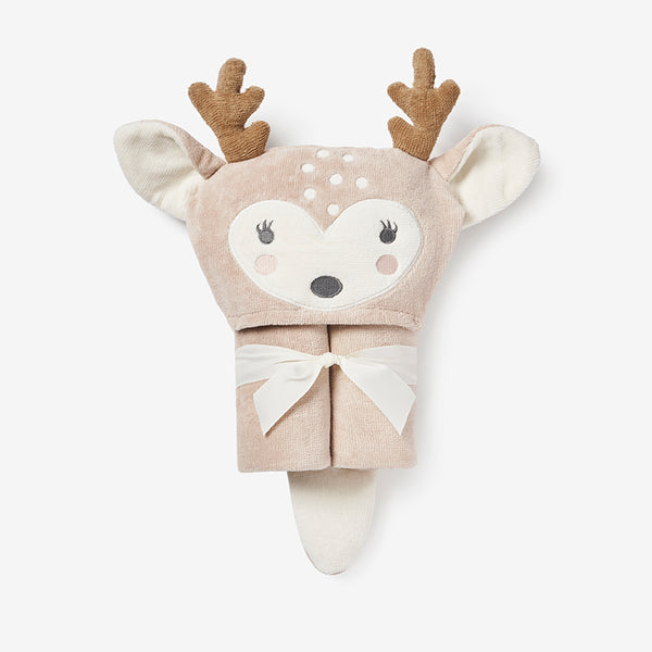 Fawn Hooded Baby Bath Wrap