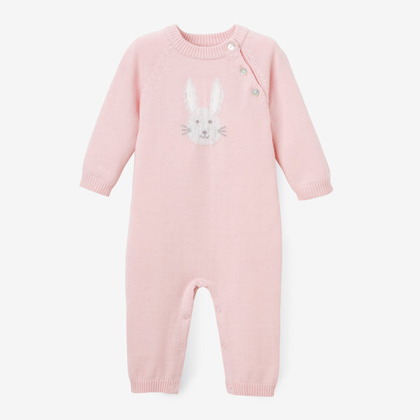 Pink Bunny Baby Jumpsuit
