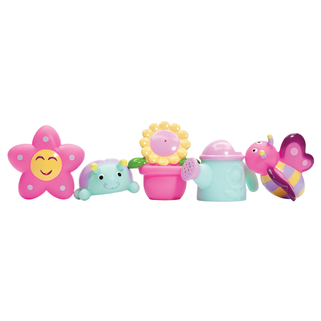In the Garden Party Squirtie Baby Bath Toys