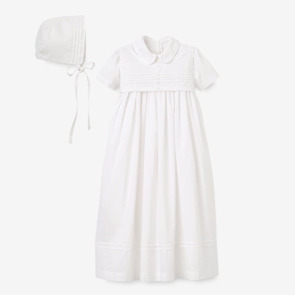 Boys' Gown & Bonnet Christening Gift Set