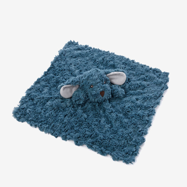 Teal Swirl Puppy Baby Security Blanket