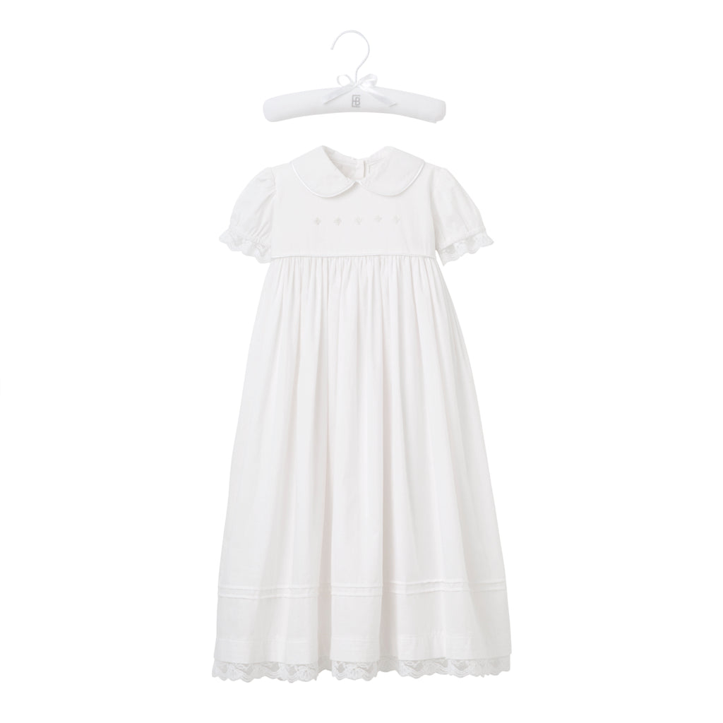 Girls' Christening Gown & Bonnet