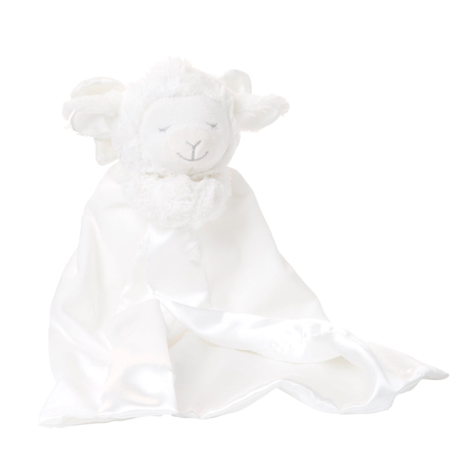 Prayer Lamb Baby Security Blanket